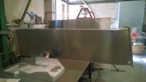 Ventilation duct manufactured