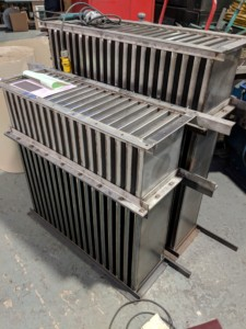 Heat Exchanger manufactured by J&S Laser Profiles