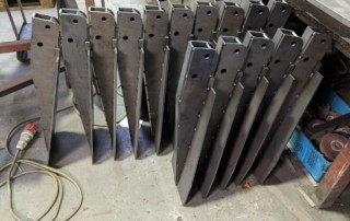 Carriage Stanchion Supports