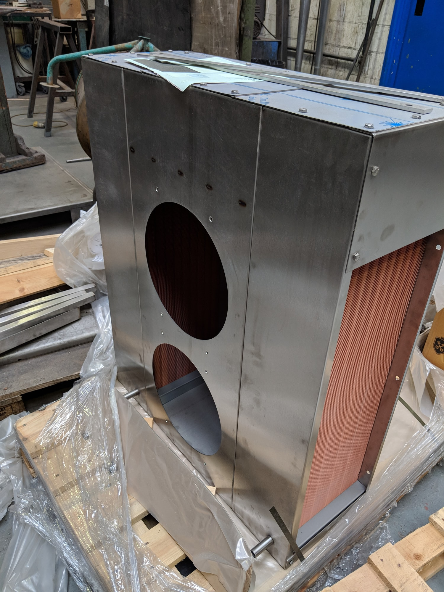 Discharge Blower Side View