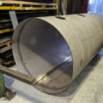 Charcoal Burner Retort - Outer chamber