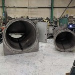 Charcoal Burner Retort - Outer and inner chambers