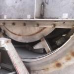 Charcoal Burner Retort - Close up of rear base