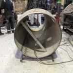 Charcoal Burner Retort - Inner chamber section
