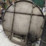 Charcoal Burner Retort - End section