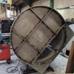 Charcoal Burner Retort - From behind