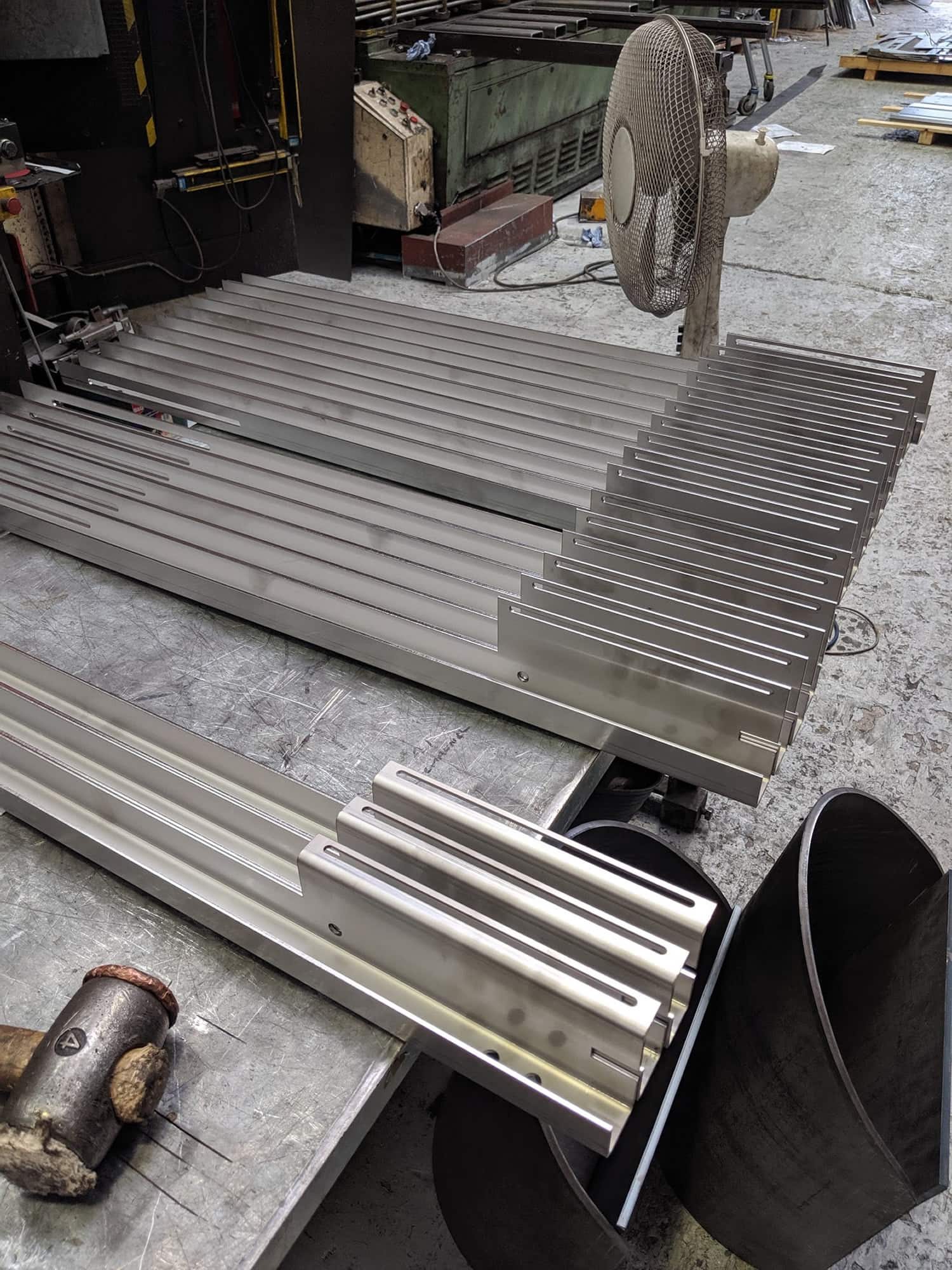 Fabricated Corner Posts