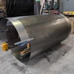 Preparing inner cylinder of Trommel