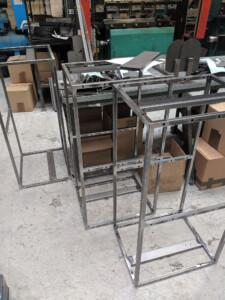 Metal speaker boxes