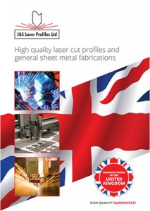 J&S Laser Profiles Brochure Front Cover