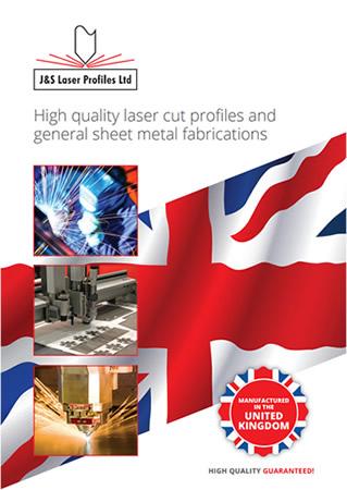 J&S Laser Profiles Brochure Front Cover